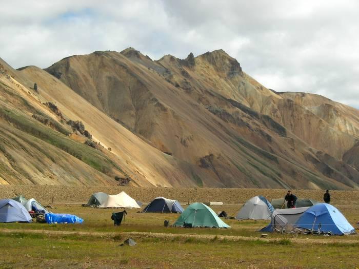 Camping Landmannalaugar Marianne de Rijke-Lohmann
